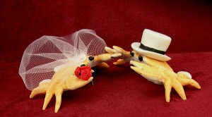 ceramic-crab-wedding-cake-toppers