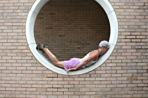 planking in a circle