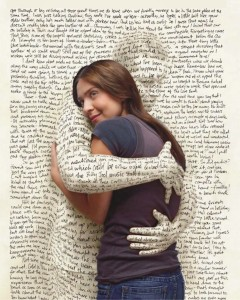 Hug the words