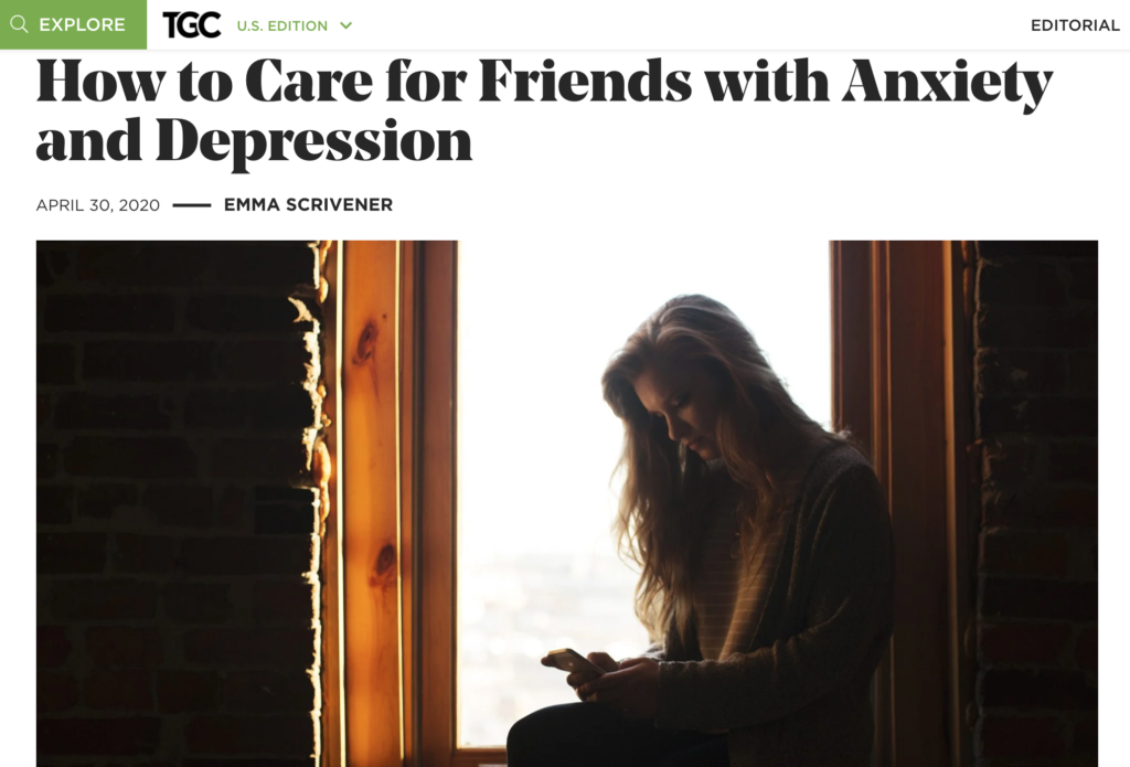 Helping those with anxiety and depression..