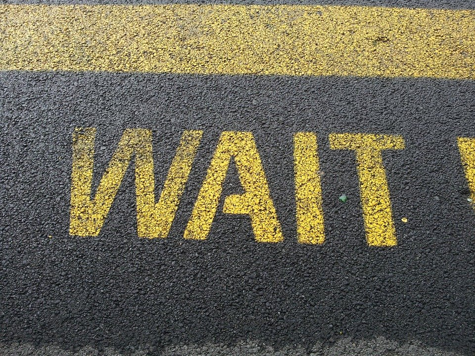 When God says, 'Wait!'